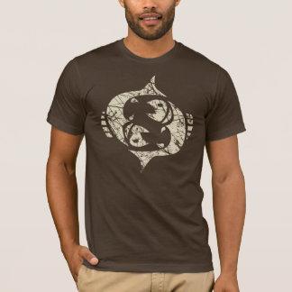 Pisces Zodiac Sign Grunge February 19 - March 20 T-Shirt