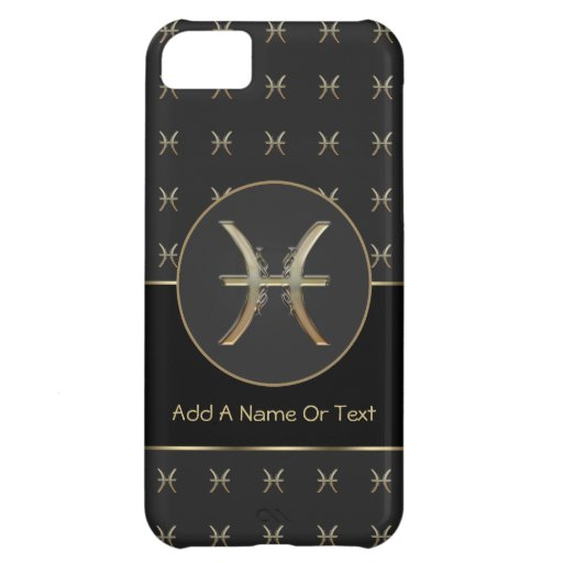 Pisces Zodiac Sign Personalized iPhone 5C Cases