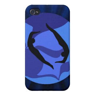 Pisces Zodiac Sign - Yoga i iPhone 4 Case