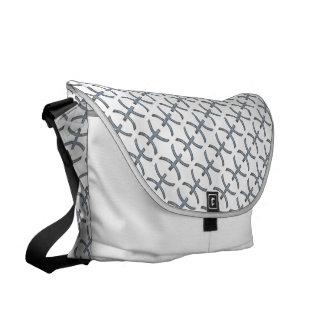 Pisces Zodiac Symbol Element Courier Bag