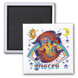 Pisces-Zodiac-V-1 Refrigerator Magnets