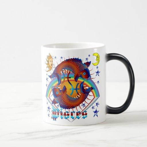 Pisces-Zodiac-V-1 Coffee Mugs