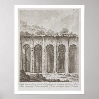 Piscina Mirabilis, from 'Avanzi della Antichita es Print