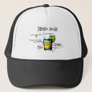 Pisco Sour Cocktail Recipe Trucker Hat