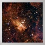 Pismis 24 brown starry sky posters
