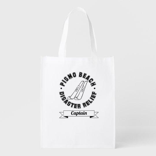 Pismo Beach Disaster Relief Captain Reusable Bag