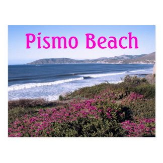 Pismo Beach Travel Postcard