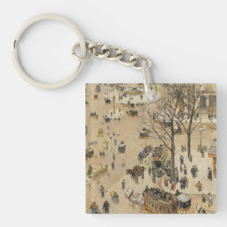 Pissarro Art Single-Sided Square Acrylic Key Ring