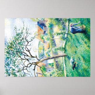 Pissarro Art Work Landscape Poster