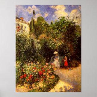 "Pissarro's ""The Garden at Pontoise"" - Poster"