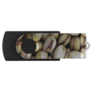 Pistachio Nuts Background USB Flash Drive