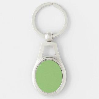 Pistachio Solid Color Key Ring