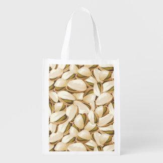 Pistachios Reusable Grocery Bag