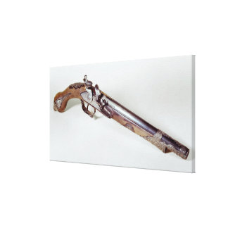Pistol belonging to Abd el-Kader Canvas Print