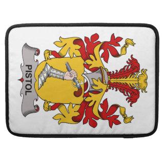 Pistol Family Crest Sleeve For MacBooks