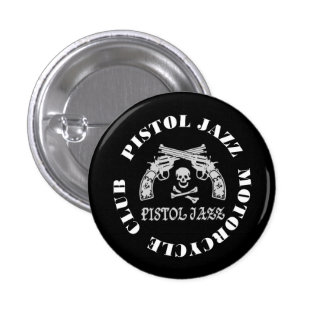 PISTOL JAZZ PJMC can batsuji 3 Cm Round Badge