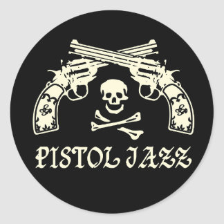 PISTOL JAZZ sticker
