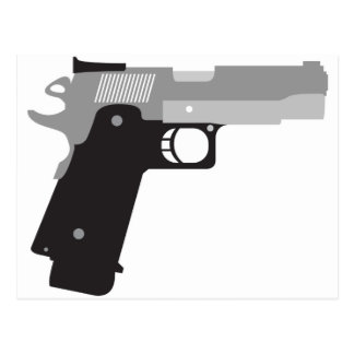 Pistol Postcard