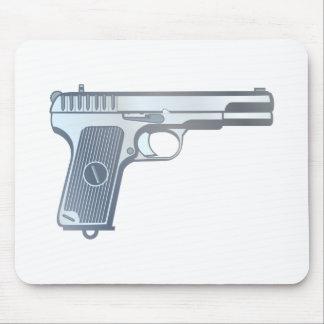 Pistole pistol gun mousepad