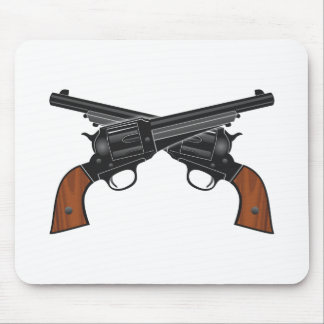 Pistolen pistols colts mauspad