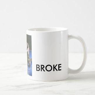 Piston Broke Basic White Mug