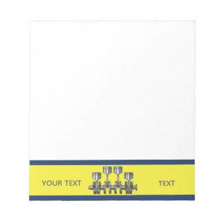 Piston Crankshaft Notepad