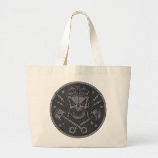 Piston Pistoff II -silver/gold Large Tote Bag