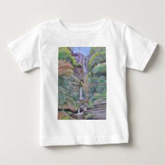Pistyll Rhaeadr Waterfall Baby T-Shirt