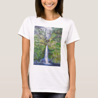 Pistyll Rhaeadr Waterfall T-Shirt