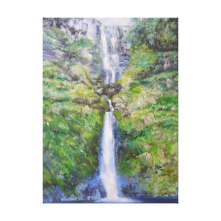 Pistyll Rhaeadr Waterfall, Wales Canvas Print