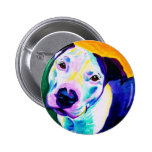 Pit Bull #1 6 Cm Round Badge