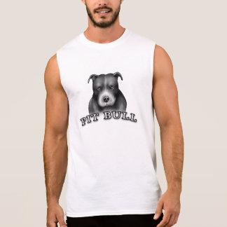 Pit Bull Dog Custom Design Dog Art White Tank Top