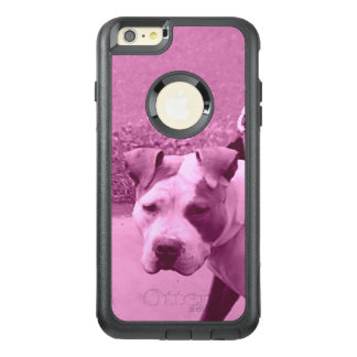 Pit Bull Dog in Pink OtterBox iPhone 6/6s Plus Case