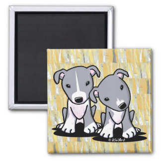 Pit Bull Duo Magnet