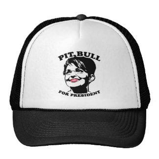 Pit Bull for President Mesh Hat