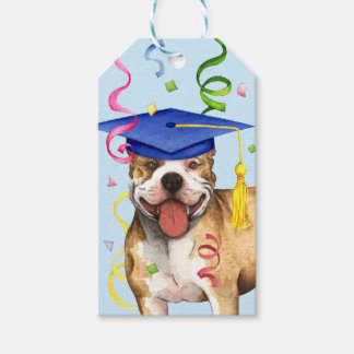 Pit Bull Graduate Gift Tags