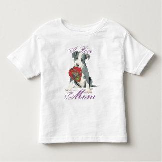 Pit Bull Heart Mom Toddler T-Shirt