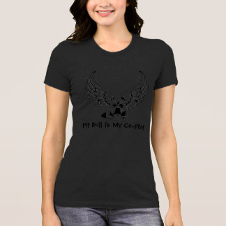 Pit Bull is My Co-Pilot Shirt Stylish Women's Top