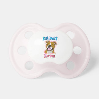 Pit Bull Love Pacifier