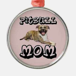 Pit Bull MOM - Tigger Christmas Ornament