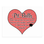 Pit Bull Paw Prints Dog Humour