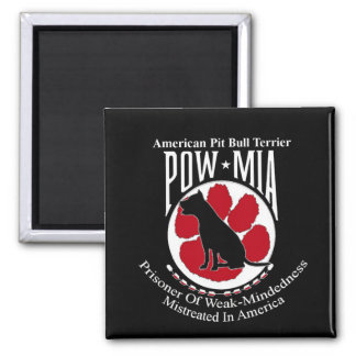 Pit Bull Pow Magnet