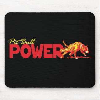 Pit Bull Power! Mouse Pad