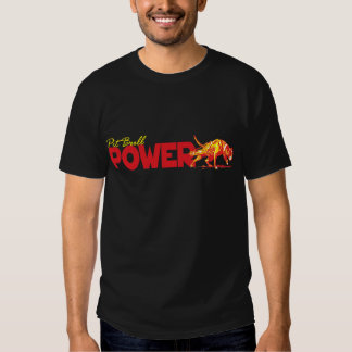 Pit Bull Power! T Shirts