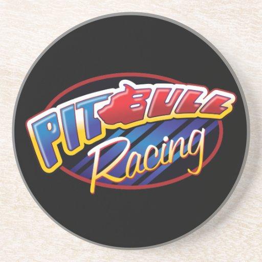 Pit Bull Racing Beverage Coaster