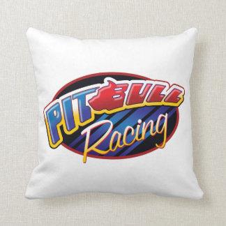 Pit Bull Racing Pillow