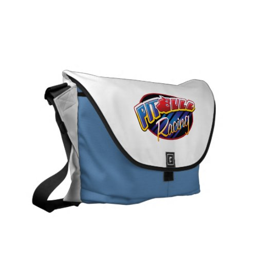 Pit Bull Racing Courier Bag