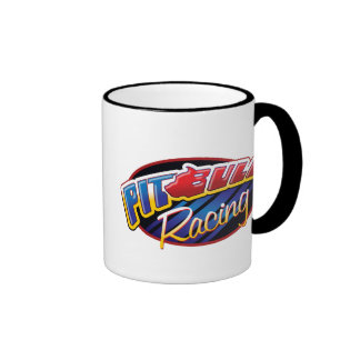 Pit Bull Racing Coffee Mugs