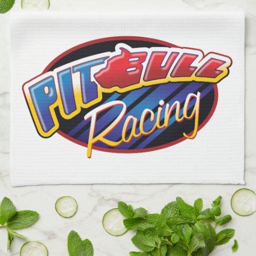 Pit Bull Racing Towel