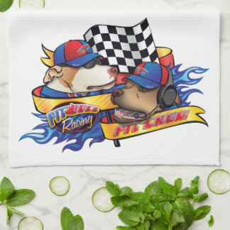 Pit Bull Racing/ Hand Towels
